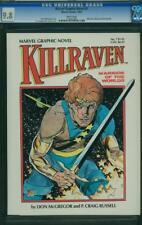 MARVEL GRAPHIC NOVEL #7 CGC 9.8 Killraven! HIGHEST GRADED 1 of 3! White Pages!