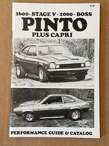 1973 Baldwin Motion Ford Pinto Mercury Capri Performance Catalog  B26