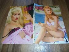 GONDEL # 142 von 1961 - FKK- Männermagazin-PIN UP-Girls / ELKE SOMMER+LIZ TAYLOR