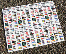 SLOT CAR SCALEXTRIC 1/32nd 'DRIFT' Japan sponsor logo stickers decals
