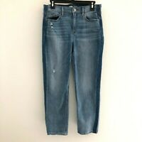 Old Navy women's sz 8 jeans the power jean perfect straight ankle stretch