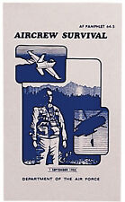 Air Force Survival Manual AF Pamphlet Aircrew Illustrated Book Guide