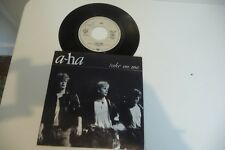 """A-HA 45T TAKE ON ME / LOVE IS REASON. 7"""" VINYL GERMANY. TAMPON EUROPE 1."""