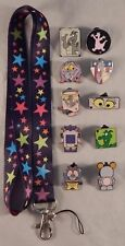 Figment Themed Starter Lanyard Set w/ 5 Disney Park Trading Pins ~ Brand NEW