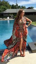 Silk Blend Kaftan Regular Size Dresses for Women