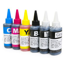 Refill Ink Bottle Set for Canon 270/271 PIXMA MG6822 TS5020 TS6020 CISS 6C