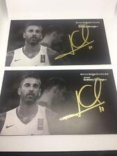 Autografo Juan Carlos Navarro (La Bomba Navarro) Jugador de Baloncesto de FCB