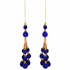 Antique Blue TasselHanging Tassel Blouse Saree Accessories Latkan