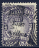 BRITISH EAST AFRICA 1895 4½A DULL VIOLET VERY FINE USED TWO PART SQUARED CIRCLES