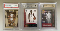zion williamson Graded rookie cards PSA 10, BGS 9.5 And 9 Both Numbered