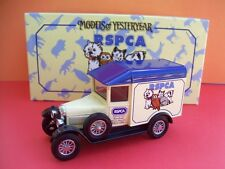 "MATCHBOX MODELS OF YESTERYEAR 1929 MORRIS LIGHT VAN ""RSPCA"" YCH04 (HARD TO FIND)"