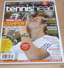 November Tennis Magazines in English