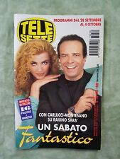 32) TELESETTE ITALIAN MAGAZINE N 39/1997 CARLUCCI MONTESANO CLERICI CASALEGNO