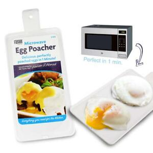 3184 Microwave 2 Egg In 1 Min Poacher Sandwich delicious perfectly poached