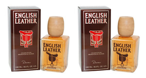 Dana English Leather for Men Cologne Splash, 8 Ounce (2 Pack)