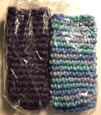 2 Reusable Popsicle Holder Ice Pop Purple/Multicolor
