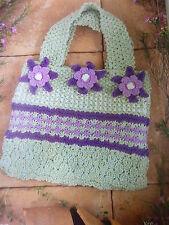 Knitting Pattern For Attractive Sac en Rowan Toutes Saisons Coton & summertweed
