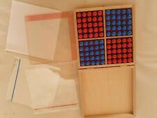 Prodidact Schulsystem Sensomat 1 100 Rechenelemente Holz Mathematik Grundschule