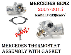 Engine Coolant Thermostat Assembly 07-15 MERCEDES CL550 G550 S450 S550 GENUINE