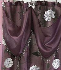 """Popular Bath Avanti""""Purple"""" 6X6 S/Curtain W/Att. Valance"""