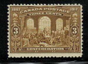 Canada #135 1917 MLH
