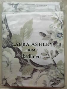 1 x Laura Ashley Belvedere Midnight Housewife pillowcase Peacocks RRP£20