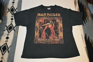 2003 - Iron Maiden - Edward the Great -Give Me Ed World Tour Concert T-shirt -XL
