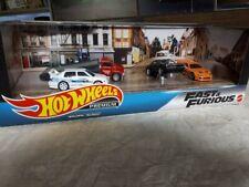 Hot Wheels Fast & Furious Premium  Box Set NEW JDM Nissan Garage Set VW Supra