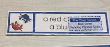 The Blue Series - Blue Series Reading Phrases Strips (24 Strips) Montessori