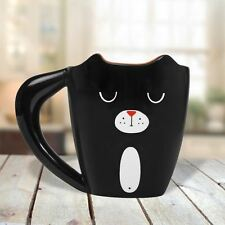 BLACK CAT Tazza da pollice alzato 3d Animal LOVER'S IN CERAMICA TEA & COFFEE CUP