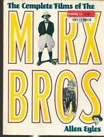 """""""The Complete Films of the Marx Brothers"""", by Allen Eyles / OVERSIZE PB / PHOTOS"""