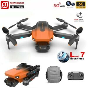New RG 101 Drone 6K HD Sony Lens Camera GPS 5G wifi Profesional FPV RC Drone to