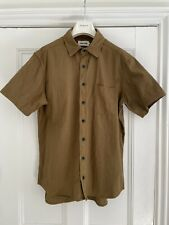 Taylor Stitch - The Short Sleeve Mechanic in Tobacco - 42