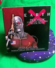 Deathlok Earth X Marvel Limited Ed Resin Bust Dynamic Forces Previews Exclusive