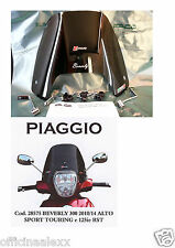 CUPOLINO FUMÈ PIAGGIO BEVERLY 300-125ie RST- SPORT TOURING 350  cod.28575