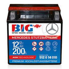 Mercedes Benz Stützbatterie - 12 V / 12 Ah BIG AGM A2115410001