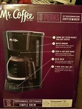 Coffee Maker Brewer Programmable Automatic Drip, Black