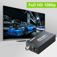 1080P HDMI to 3G SDI Converter with Power Adapter for SDI Monitor TV HDTV PS4