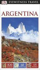 DK Eyewitness Travel Guide: Argentina, DK Publishing, Good Condition, Book