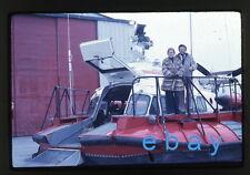 1970s amateur 35mm color Photo slide Canada Coast Guard Hovercraft