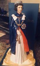 ROYAL DOULTON HER MAJESTY QUEEN ELIZABETH II PORTRAIT FIGURE HN 2878 LTD.EDITION