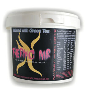 Thermo X MR- Meal Replacement (1kg) 500gm Vanilla 500gm Choc.