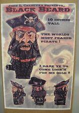 BLACKBEARD THE PIRATE Edward Teach MODEL KIT John Cherevka MINT IN BOX!
