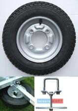 """Trailer spare wheel & tyre 3.50"""" x 8"""" Erde 102 complete with SPARE WHEEL CARRIER"""