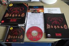Original Diablo Apple Mac V.G.C. Fast Post (très rare BIG BOX RPG Game)
