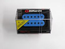 DiMarzio F-spaced Titan Neck Model Humbucker Blue W/Black Poles DP 258