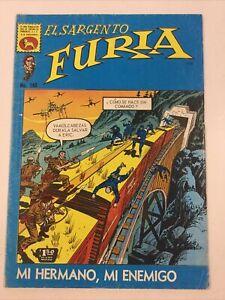 1973 SPANISH COMICS EL SARGENTO FURIA #160 SGT NICK FURY LA PRENSA MEXICO