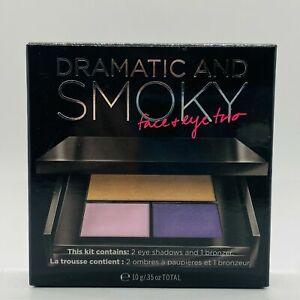 Victoria's Secret Dramatic & Smoky Face & Eye Trio Make Up Bronzer & Shadow NEW