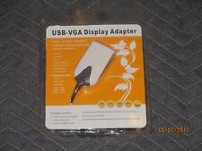 AddOn USB 2.0 to VGA Multi Monitor Adapter/External Video Card USB2VGA