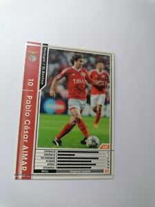 Wccf Aimar 2011/2012 New Benfica Portugal n a39/48